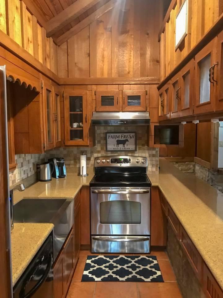 Creek House Kitchen.