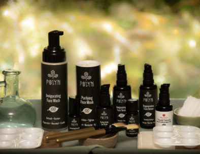 polyn skin care line facial massage