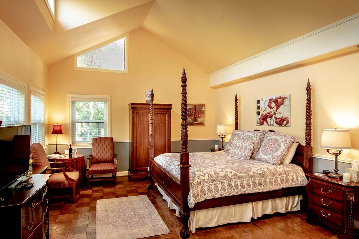 Scarlet Sage bed