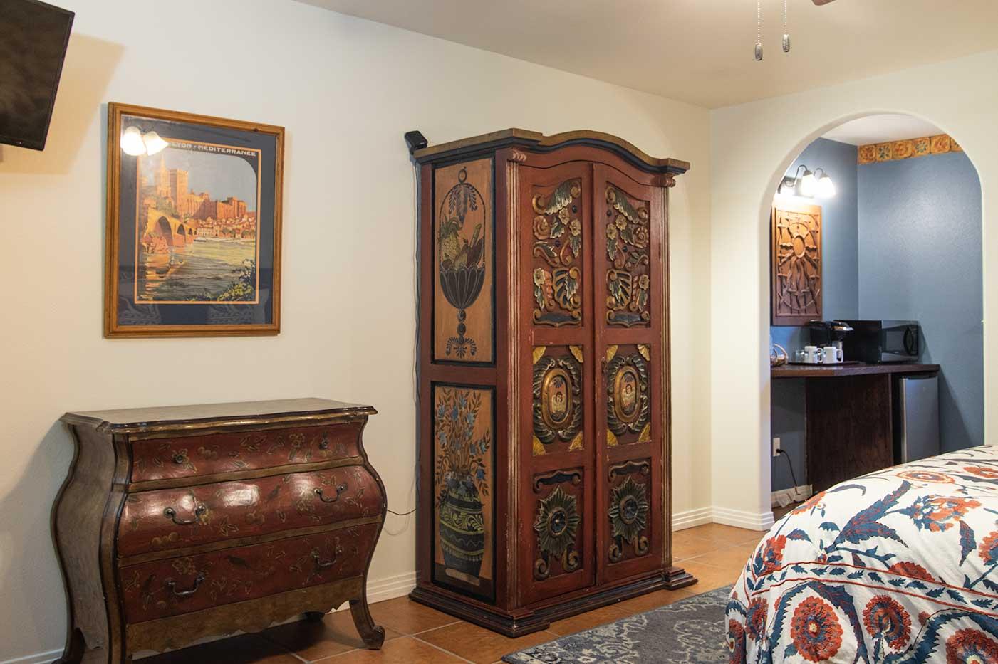 wild poppy armoire dresser