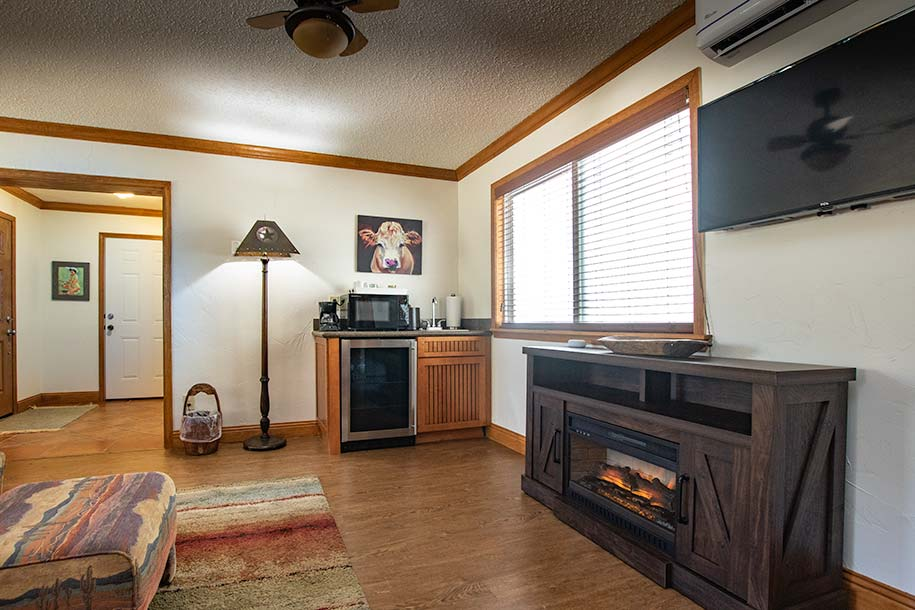 Ranch Room Fireplace