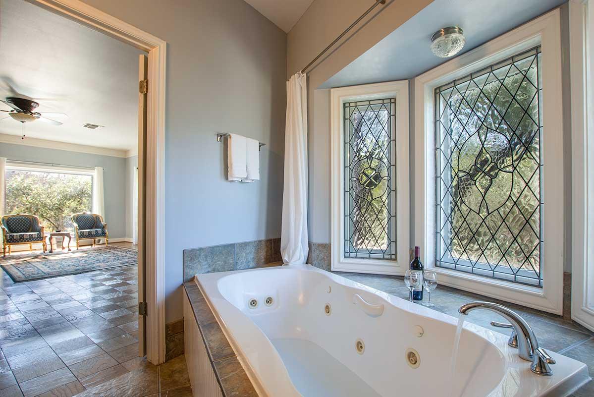 Bluebonnet bath